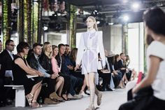 From the Hugo Boss Spring 2015 runway show