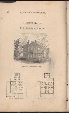 Vintage house plans 1800s on pinterest farm house for 1800s farmhouse floor plans