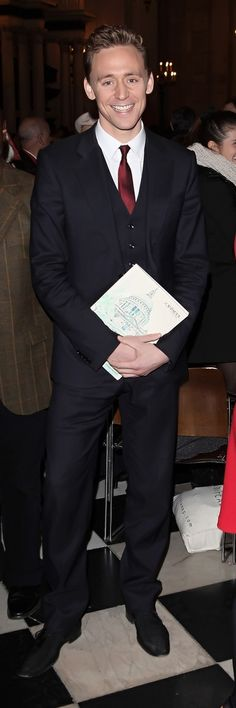 'Waist Coat Wednesday'. Tom Hiddleston attends the Cancer Research UK Christmas Carol Concert at St Paul's Cathedral on December 11, 2012 in London. Click here for full resolution: http://maryxglz.tumblr.com/post/151709804247/waistcoatwednesday-tom-hiddleston-attends-the #WaistCoatWednesday