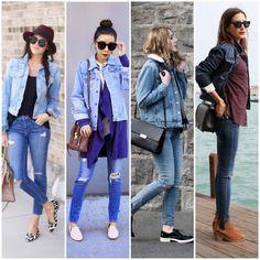 Jaqueta jeans com calca jeans