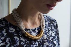 I somras vann jag ju Pattex Blog Awards och i samarbete med Pattex har jag gjort några pyssel. Först ut är ett DIY halsband som jag ju använde för några helgersennär jag var på bröllop i Danmark....