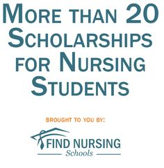 Scholarships for Nursing Students Nationwide! Thank you MaryAnne and I can't figure out how to comment back or tag you!! Lol