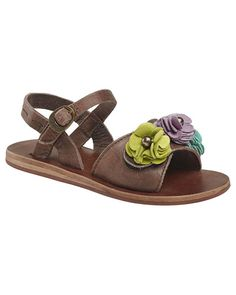 adorable.  I love these Kickers Girls' 'Botanic' Sandals