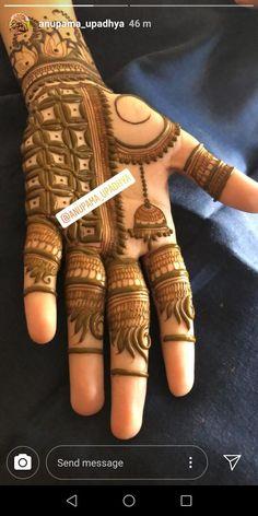 Round Mehndi Design, Palm Mehndi Design, Rose Mehndi Designs, Finger Henna Designs, Stylish Mehndi Designs, Mehndi Designs For Girls, Mehndi Design Photos, Dulhan Mehndi Designs, Wedding Mehndi Designs