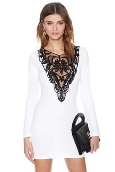 Nasty Gal French Love Dress | Shop What's New at Nasty Gal