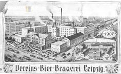 Das waren die Anfänge der Feinkost: die Vereins-Bier-Brauerei Leipzig. // via www.feinkostblog.wordpress.com