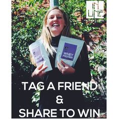 We have just introduced 500g bags in our lean range! To win a bag for you and your friend head to out Facebook page and tag your friend and share this post to be in to win! Winner will be drawn at 5 on Wednesday! #wheyprotein #win #cleanprotein #protein #nzmade #nongmo #glutenfree #leanprotein #gym #fitness Whey Protein Powder, Lean Protein, Gym Fitness, Plant Based Diet, Glutenfree, Wednesday, Range, Facebook, Gluten Free