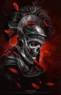 Centurião, Esqueleto