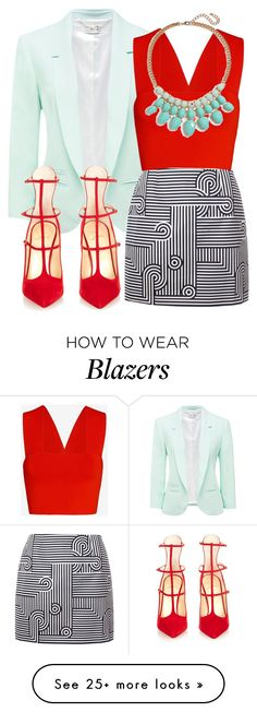 """""""Untitled #592"""" by fashionista2704 on Polyvore featuring мода, Forever New, A.L.C., Victoria, Victoria Beckham, BP. и Christian Louboutin"""
