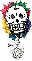 Dia de los Muertos Pin
