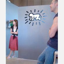 Pop-Shop.com Radiant Baby (16 x 12) Wall Decals (Set of 2)