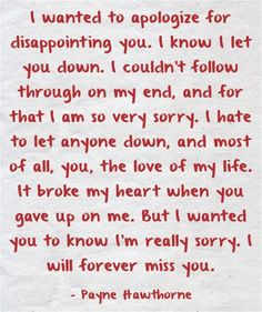 You'll never see this but I'm sorry G I truly and honestly I wish I could tell you this and not on here I wish I knew all the answers to what was going on I fucked up I worried to much about everything around me instead of what was in front of me Sorry For Hurting You, Sorry I Hurt You, Sorry My Love, Really Sorry, Messed Up Quotes, Im Sorry Quotes, Hurt Quotes, Strong Quotes, Quotes Quotes