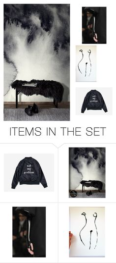 """""""not my problem"""" by info-3buu ❤ liked on Polyvore featuring art, artexpression and etsyart"""