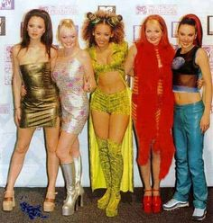 Spice Girls. If you can't dance, you can't do nothing for me baby.
