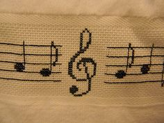 Music Note Towel Hand Towel Kitchen Towel by Giftsbyshelley