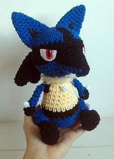 Ravelry: Lucario Cute pattern by Ana Amélia (Miahandcrafter)