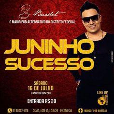 #VEJA Bardot Pub: Juninho Sucesso #agenda @paroutudo via ParouTudo http://ift.tt/29Qjwvp #Raynniere #Makepeace