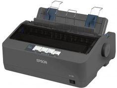 Impressora Epson LX-350 Matricial USB 2.0 - Rascunho de Alta Velocidade