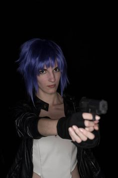 Lady Chu as Major Motoko Kusanagi, from Ghost in the Shell www.facebook.com/ladychuu #anime #cosplay #major #motoko #kusanagi #ghost #ghostintheshell PH: D-Roth Fotografía