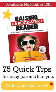 raise a rock-star reader: book — teach mama