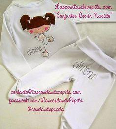 Las cositas de Pepita: Nuevo modelo de Conjunto para bebes Onesies, Diy Baby, Clothes, Gifts, Fashion, Role Models, Child Fashion, Mariana, Tejido