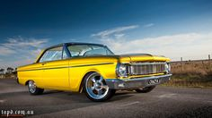 1965 Ford Falcon XP Coupe Australian..Re-pin brought to you by agents of #carinsurance at #houseofinsurance in Eugene, Oregon Aussie Muscle Cars, American Muscle Cars, Custom Muscle Cars, Custom Cars, Ford Falcon Australia, Australian Cars, Car Mods, Old Fords, Automotive Art
