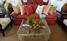 Tropical Furnishings - HGTV Dream Home 2008: Tropical Great Room Pictures on HGTV