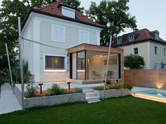 Glass Extension For An Aged House In Salzburg, Austria | http://www.designrulz.com/design/2015/02/glass-extension-for-an-aged-house-in-salzburg/