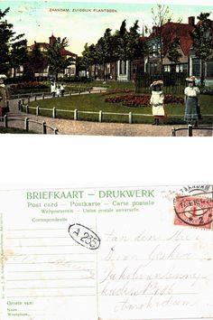 Zuiddijk, Plantsoen, Zaandam 1910