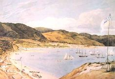 Check out Thorndon Flat and the City of Wellington by Charles Heaphy at New Zealand Fine Prints