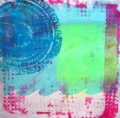 Carolyn Dube - fitting art into a busy day...