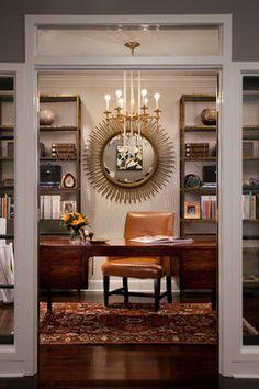 KSMID Studio eclectic-home-office via houzz