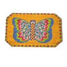 MacKenzie-Childs - Butterfly Entrance Mat