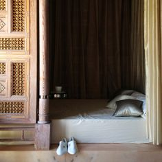 Treatments at Royal Mansour are followed by a private bed in the relaxation room with ginger lemon tea overlooking the gardens.