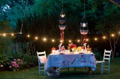 Outdoor entertaing ideas ~ Inspirations by D
