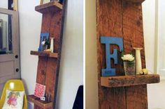 Leaning Wall Shelf-Design*Sponge DIY