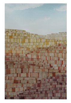 "162 Stratified Cities, автор Federica Stagni, конкурс ""архитектурная фантазия / architectural fantasy"" | Конкурсы Archplatforma.ru"