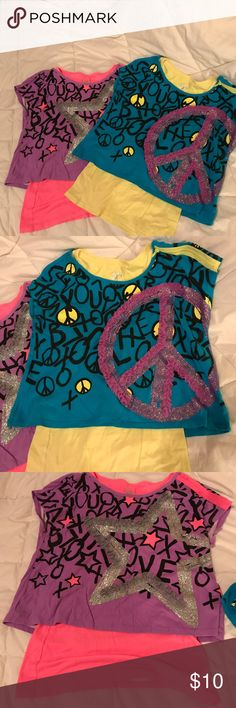 Justice Shirts 2 Girls Justice Tops/Size 20 Shirts & Tops