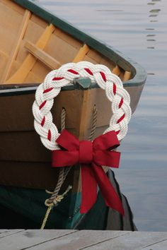 Nautical Rope Wreath--by First Harbor Company - Hand Crafted Holiday Wreaths