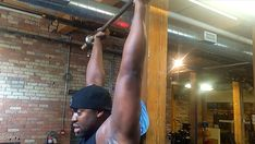 Tip: Use A False Grip On Overhead Presses. Here's why.