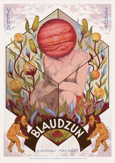 Poster for Blaudzun +Jeangu Macrooy 22/09  Posters are available at my Shop: https://www.etsy.com/nl/shop/DouweDijkstra