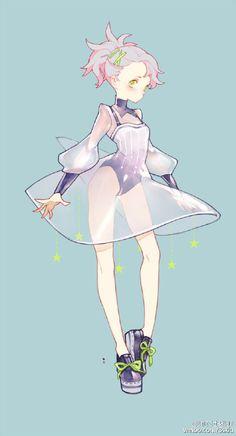 Woah, I love her design so much!!