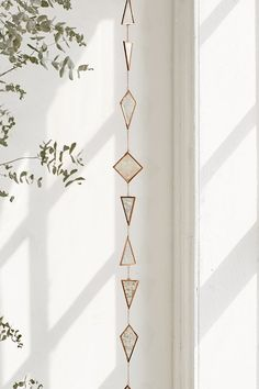 Shop Selma Hanging Garland at Urban Outfitters today. We carry all the latest styles, colors and brands for you to choose from right here. Stained Glass Projects, Stained Glass Art, Hanging Stained Glass, Funky Home Decor, Diy Home Decor, Reema Floor Cushion, L'art Du Vitrail, Hanging Garland, Diy Inspiration
