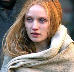 "Emily Berrington as Jane Shore, mistress of Edward IV, in the STARZ miniseries ""The White Queen""."