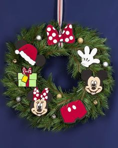 A wreath hung on a front door is a symbol of seasonal good cheer, welcoming family, friends and other visitors into your home for warmth and celebration.