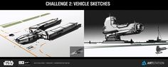 Spoiler Free Movie Sleuth: Images: Star Wars Concept Art From The ILM Challenge From Anton Chernoskutov