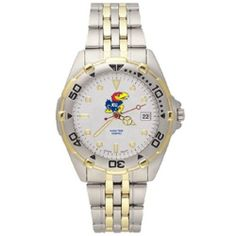 NCAA Logo Art Kansas Jayhawks Men's Elite Watch W/Stainless Steel Band by Football Fanatics. $109.95. Officially licensed collegiate product. Logo Art Kansas Jayhawks Men's Elite Watch with Stainless Steel BandOfficially licensed collegiate productOfficially licensed collegiate product