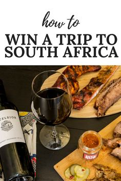 Learn how you can win a trip to South Africa in 2017!