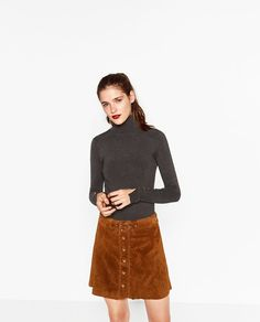 ZARA - WOMAN - TURTLENECK SWEATER