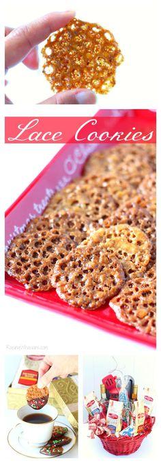 Lace Cookies Recipe   Perfect Unique Holiday Cookie Exchange Recipe Raising Whasians